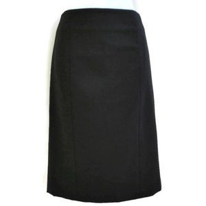Theory Rita Taylor Pencil Skirt Dual Back Vents 2